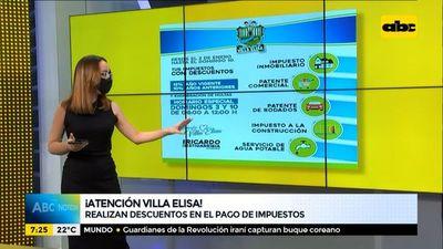 Villa Elisa y Asunción ofrecen descuentos a sus contribuyentes