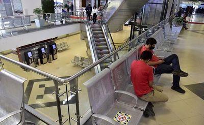 Estrepitosa caída en cantidad de pasajeros en el aeropuerto internacional