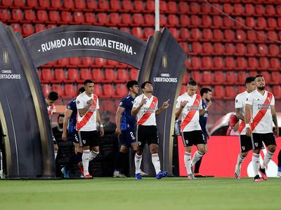 River Plate y Palmeiras abren las semis de la Libertadores