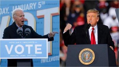 Trump y Biden hicieron campaña en Georgia en la víspera de la crucial elección al Senado – Prensa 5