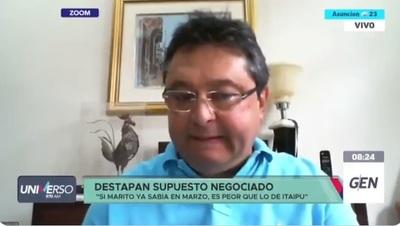 """Leite: """"Marito tiene que darle una patada en el culo a Villamayor"""""""
