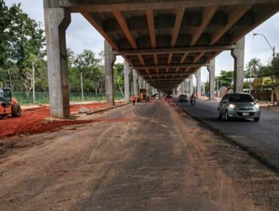 Inicia la construcción de dársenas para las paradas de buses del viaducto botánico