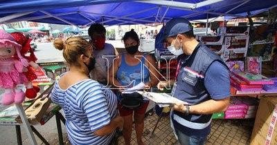 La Nación / Quieren aprovechar reyes para formalizar a vendedores apostados en veredas
