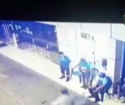 Millonario asalto con toma de rehén en Yaguarón
