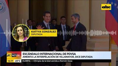 Amerita la interpelación de Juan E. Villamayor, según Kattya