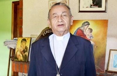 Mons. Mario Melanio Medina con COVID-19