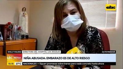 Advierten del alto riesgo del embarazo de la niña de 11 años