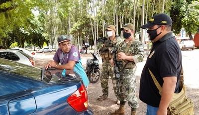 Detienen a delivery de cocaína en la línea fronteriza con el Brasil