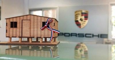 La Nación / Con apoyo de Porsche, más familias recibieron viviendas de Techo