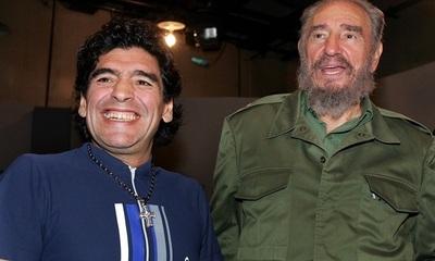 Hijo de Fidel Castro revela herencia desconocida de Maradona