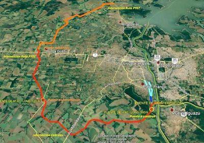 MOPC licita obras de acceso al segundo puente con Brasil por US$ 165 millones