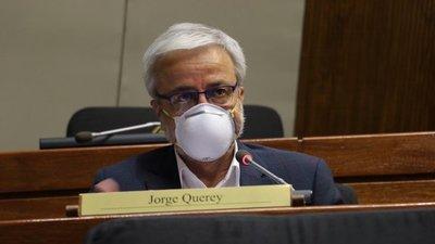 """""""Mario Abdo Benítez es una persona incapaz de ocupar un cargo de gobernante y de estadista en el país"""", afirma Querey"""