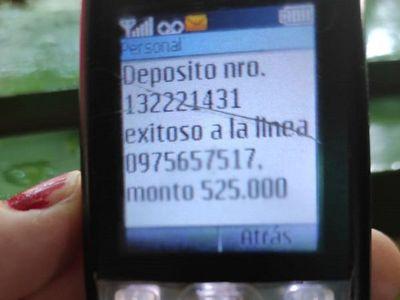 Pobladores de Puerto Casado son víctimas de extorsión y robo de perfil
