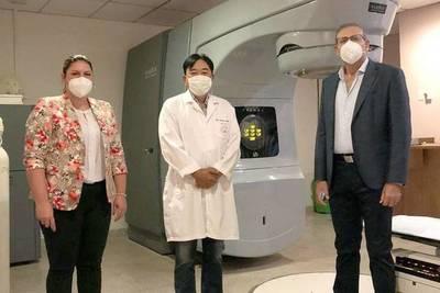 Diputado donó G. 66 millones para reparar acelerador lineal del Incan para radioterapia de pacientes