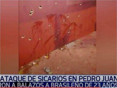 Joven es asesinado por sicarios en despensa de Pedro Juan Caballero