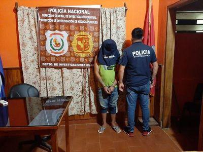 Detienen a presunto involucrado en la muerte de un hombre en Villarrica