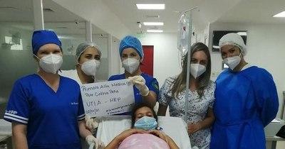 La Nación / Nueva UTI de Paraguarí dio su primer alta médica