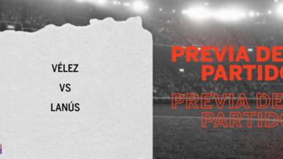 Vélez recibirá  a Lanús por la Semifinal 1
