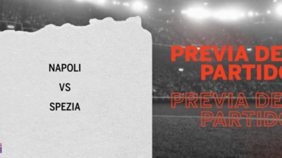 Spezia buscará vencer su racha negativa ante Napoli