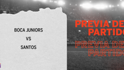 Por la Semifinal 1 se enfrentarán Boca Juniors y Santos