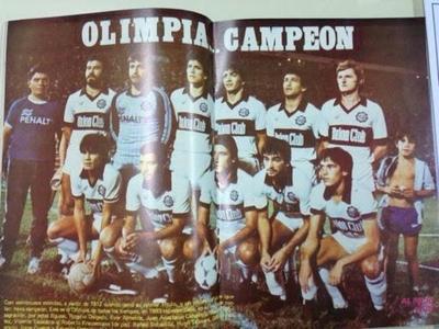 HOY / Olimpia lograba el hexacampeonato 36 años atrás