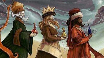 Queridos Reyes Magos………