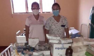 Insumos médicos y de bioseguridad para la penitenciaría regional