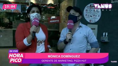 Apertura oficial de Pizza Hut en la ciudad de Capiatá