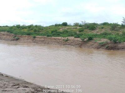 El río Pilcomayo vuelve a tomar fuerza en territorio paraguayo