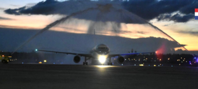 Luego de 5 años se reiniciaron vuelos directos a EE.UU