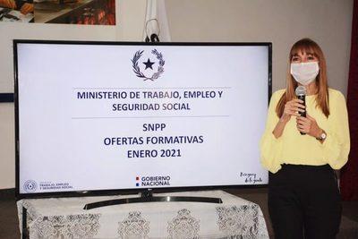 Ministerio de Trabajo lanzó más de 700 cursos de capacitación