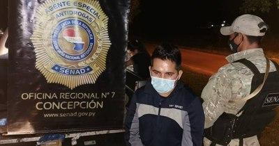 La Nación / Detienen a un pasajero con más de 2.000 dosis de crack en su poder