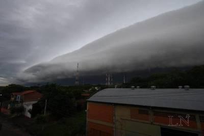 Anuncian lluvias con tormentas eléctricas moderadas a fuertes