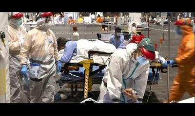 Infierno Covid: Internados hacinados, pocos médicos, equipamientos precarios, camillas con algún cadáver a vista de todos