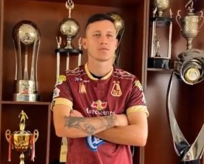 Gustavo Ramírez es nuevo jugador de Deportes Tolima