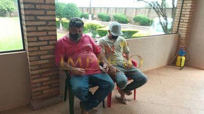 Detienen a supuestos narcotraficantes en la vía pública