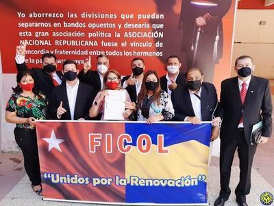 """Inscripción del Movimiento """"Frente Independiente de Colorados Luqueños"""" •"""