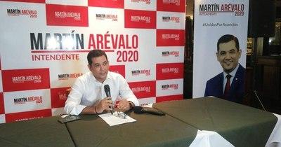La Nación / Martín Arévalo inscribirá mañana su movimiento para pugnar por la Intendencia de Asunción