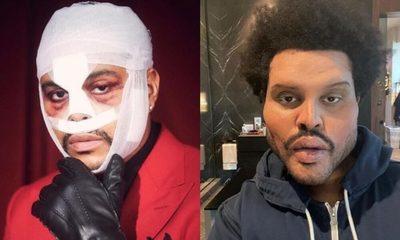 The Weeknd sorprende con su dramático cambio de look