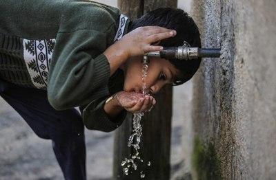 Una empresa israelí en la franja de Gaza transforma la humedad del aire en agua