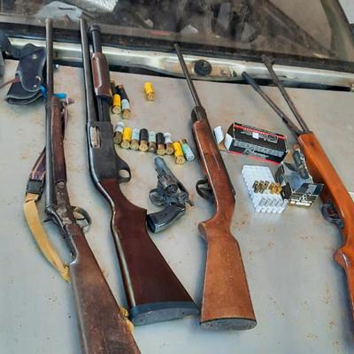 Requisan armas y detienen al hijo del suizo que amenazó con disparar a su vecina