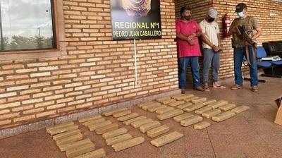 Incatan 680 kilos de marihuana en operacion conjunta entre la SENAD y Policia brasileña