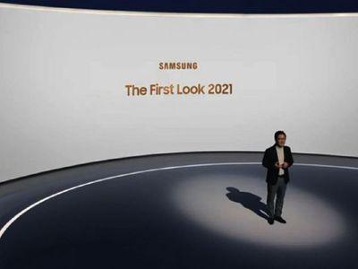 Samsung presentó de manera virtual su línea de televisores