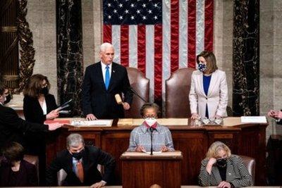 Tras una violenta jornada en Washington, el Congreso finalmente certificó a Joe Biden como presidente de Estados Unidos