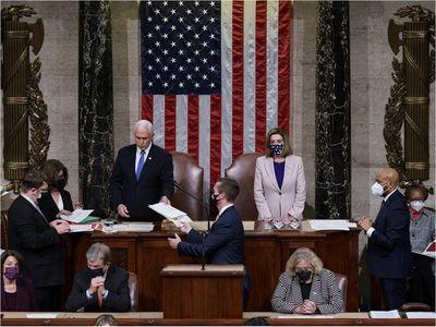 Congreso de EEUU ratifica a Joe Biden como presidente electo