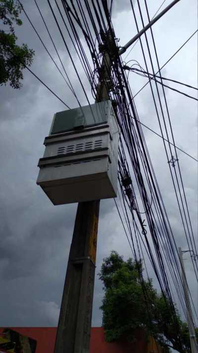 Robo colectivo de BATERIAS de GEL en 5 BARRIOS de CDE