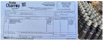 Mate Charrúa asegura que Arnoldo Wiens compró los termos 'Stanley' y publica factura de compra