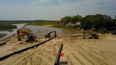 Defensa Costera de Pilar: construirán estructura de control en desembocaduras de arroyos Ñeembucú y San Lorenzo