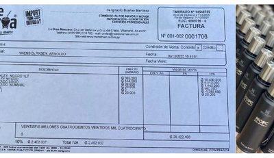 """Mate Charrúa asegura que Arnoldo Wiens compró los termos """"Stanley"""" y publica factura de compra"""