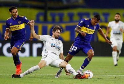 Boca Juniors y Santos igualan 0-0 en partido de ida de semifinales de Libertadores